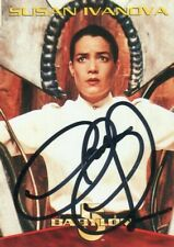 BABYLON 5 1996 Autograph #3 Base Card!!! CLAUDIA CHRISTIAN #2