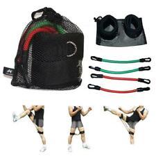 6Pcs Leg Resistance Bands Glute Exercise Fitness Jump Trainer Taekwondo W/Bag