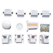 4pcs Kids Safety Cabinet Door Drawer Magnetic Lock Furniture Hidden Locks 1 Key