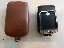 Vintage Agfa Agfalux Folding Flash Unit with Case Used