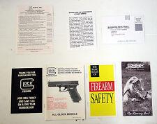 Gun Manuals for GLOCK for sale   eBay