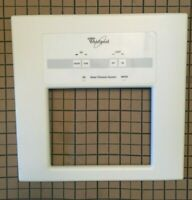 Whirlpool Refrigerator Freezer Dispenser Facade White w/ Switch 2205863W