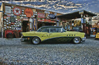 Buick Gas Station Torres Man Cave Retro Automotive Classic Metal Sign