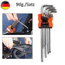 FAMEX Sechskant Winkelschlüssel Set für Inbus Torx Schlüssel Werkzeug Satz Innen