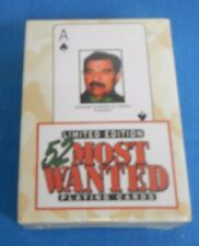 Limited edition Iraq war most wanted playing cards, New