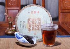 2018 China Yunnan qiaomu Jinzhen  Ancient Tree Ripe Puer Pu-erh Tea cake 357g