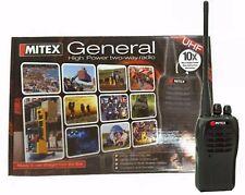 Mitex General High Powe 5w UHF Radio Single Good Conditon