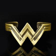 Wonder Woman Movie Diana Prince Tiara Bracelet Bangles Cuff Logo