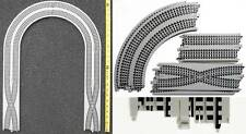 TYCO HO Slot Car CRISS CROSS OVER & CURVE Race Track Add ON Lane Changer