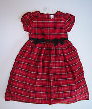 NWT Gymboree Merry Occasions Sz 10 Red Plaid Silk Holiday Dress