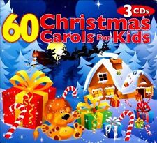 NEW 60 Christmas Carols For Kids by The Countdown Kids (CD, 2010, 3 Discs)
