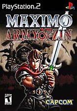 Maximo vs Army of Zin (Sony PlayStation 2, 2004) SEALED NEW