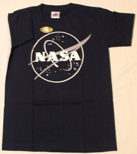 NASA T-SHIRT.  ADULT LARGE.  Glows in the Dark.  NEW IN PACKAGE.