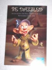 WDCC Dopey the Dwarf Bedazzled Postcard - Mint and CHEAP!!