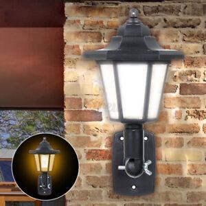 Solar LED Landscape Light Outdoor Garden Wall Lantern Lamp Fixture Warm  K