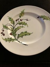 Clarice Cliff Royal Staffordshire Plate. In EVERGREEN Pattern-nr