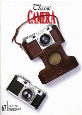 Classic Camera  N.67 Agosto 2008 rivista in italiano collezionismo fotografico