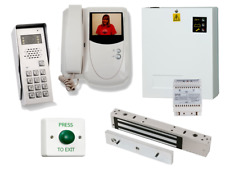 Professional colour video door entry kit with Integrated Access Keypad, Maglock