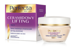 DAX COSMETICS PERFECTA CERAMIDE LIFTING SMOOTHING FACE CREAM DAY NIGHT 50+