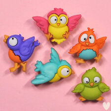 DRESS IT UP Buttons Bird Brain 7688 - Embellishments