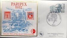 2228+ FDC  ENVELOPPE 1er JOUR     BLOC CNEP N° 3A PARIPEX