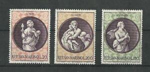 San Marino 1969 Xmas MNH