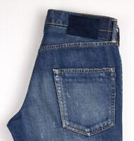 SOCIAL SCULPTURE DENIM Herren 03D5 Slim Jeans Größe W30 L32 ARZ1159