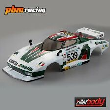 KILLERBODY Lancia Stratos 1977 GIRO 195 mm 1/10 RC Auto Rally finito Corpo 48250