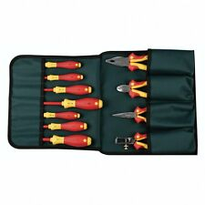 Wiha 32888 Pliers And Screwdriver Set In Canvas Pouch 11 Piece
