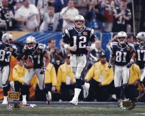 Tom Brady New England Patriots Super Bowl XXXVIII 8x10 Photo