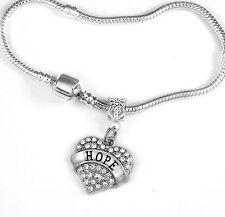 Hope Bracelet Hope Gift Hope Bangle Hope Jewelry charm Hope Bracelet Faith