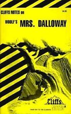 Mrs. Dalloway (Cliffs Notes) Carey, Gary Paperback