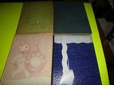 4 Barnesville Ohio Senrab Yearbooks 1945 to 1948