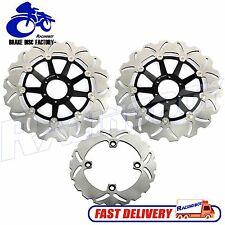 Front & Rear Brake Disc Rotors For Honda CBR900RR CBR 900RR Fireblade 1998 1999