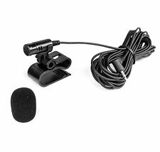 Mikrofon für BLAUPUNKT Toronto PIONEER AVIC DEH 2,5mm Klinke AUX + Windschutz