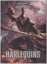 GW Warhammer 40K Codex Harlequins 7th edition - Hard Cover - Shrink Wrapped!