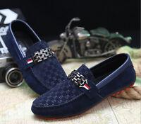 MensSlip On Casual Boat Deck Mocassin Designer New Loafers Driving Shoes UK Size