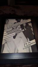 Morris Jefferson Spank Your Blank Blank Rare Original Promo Poster Ad Framed!