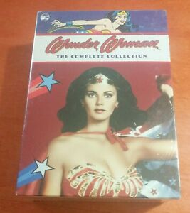Wonder Woman The Complete Collection DVD DC Comics Lynda Carter  Lyle Waggoner