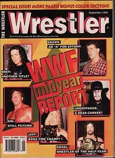 The Wrestler September 1995 Bret Hart, Shawn Micheals, Undertaker VG 012016DBE