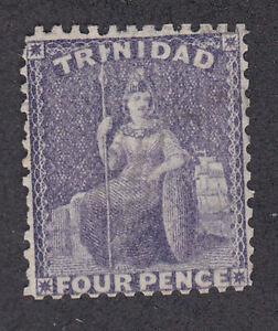 Trinidad 1863 Mint Unused Part Set 4d Four Pence Definitive Britannia CC SG70b