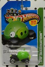 2012 ANGRY BIRDS MINION 35 GREEN PIG HW HOT WHEELS