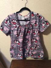 New listing Disney Mickey and Minnie Mouse In Love Large Scrub (Used)