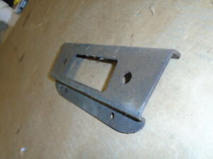 Triumph TR4 - RADIO PANEL / Plate - Fits between dah + H section ORIGINAL USED