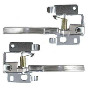 New Pair Set Inside Interior Chrome Door Handle 77-90 GM Models 1713927 1713926