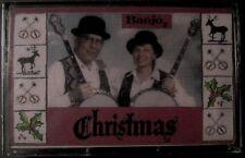 Banjo 2 Christmas (Cassette, Jim Blanton & Lori Slatter)  NEW