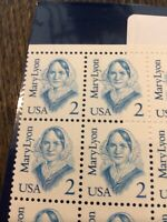 US Block Scott #2169 2c Mary Lyon [4] MNH