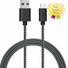 Micro USB Cable Android Samsung Galaxy Charger Nexus LG HTC Nokia PS4 Sony