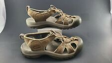 Women Size 8 Men 6 Keen Waterproof Leather  comfortable hiking Sandal