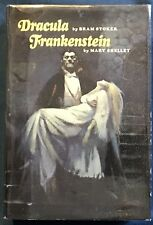 Dracula And Frankenstein Hardback With Wraparound  Dust Jacket By Frank Frazetta